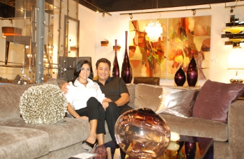 Awesome Jesus And Rosario Gonzalez Sit Inside The Original NIU Urban Living  Showroom. (Roberto Sanchez)