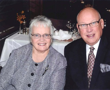Chuck and Enid Olsen do more than arrange travel for clients. They also host many tours. One Chuck Olsen Mystery Tour landed clients in Columbus, Ohio.  (Courtesy)