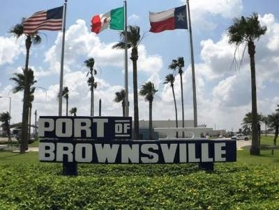 The Port of Brownsville administrative office is now at a temporary location during renovation and expansion. (photo Port of Brownsville)