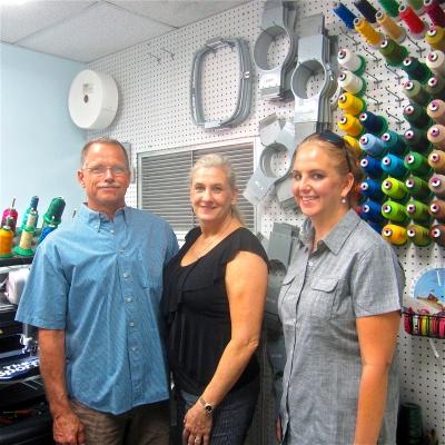 Allan Crockett, Terrie Crockett and Laurie Tresch changed their relationship from employers/employee tobusiness partners.