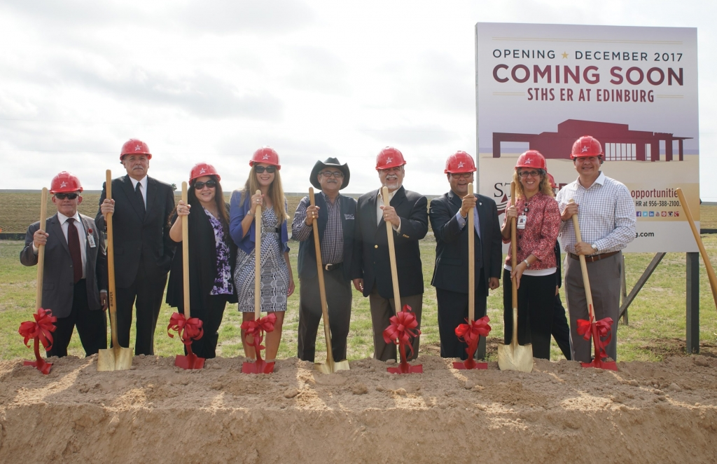 STHS freestanding ER groundbreaking