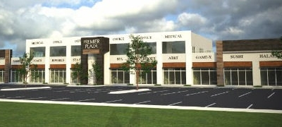 A rendering of the upcoming Premier Plaza in McAllen