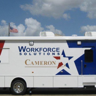 Workforce Solutions brings it Mobile Resource Lab to La Feria regularly starting in August. (photo Workforce Solutions)