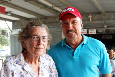 Josefa and Basilio Gomez Jr. members of their family have operated the 77 Flea Market since 1981. (VBR)