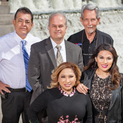 2016 winners of the McAllen Top 5 Small Business Awards