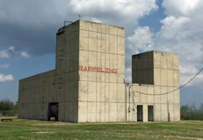 Abandoned in the 1970s, this jet-engine test facility could be renovated as a modern propulsion testing site. (Courtesy)