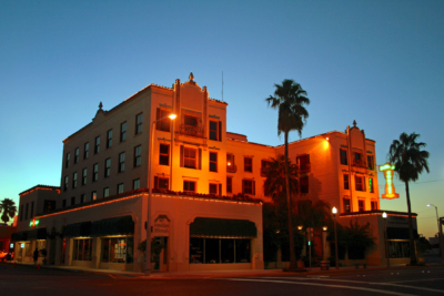 The Villa de Cortez in downtown Weslaco opened in 1998 after extensive renovations. (VBR)