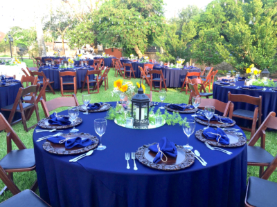 Outdoor venues are available at The Ebony House. (Courtesy)