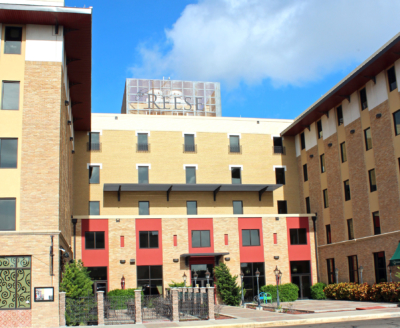 The fifth story of the renovated Reese Hotel in Harlingen is an events venue. (VBR)