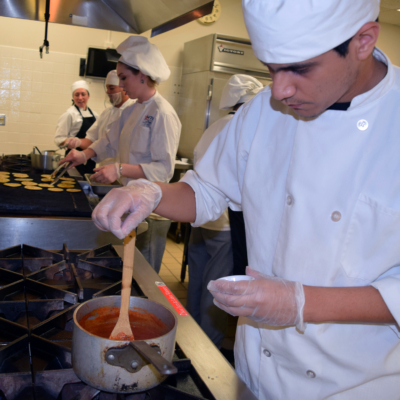TSTC's Culinary Institute hosts its Saturday cooking demonstrations Sept. 16, Sept. 30, Oct. 28 and Nov. 11, inviting the public to learn secrets and enjoy meals. (photo TSTC)