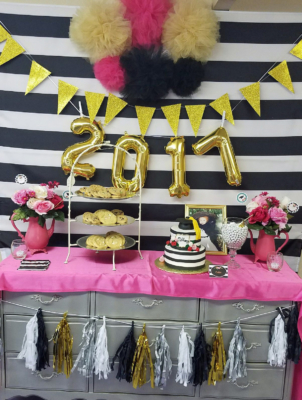 Glitzy Glam offers full decorating services for its parties. (Courtesy)