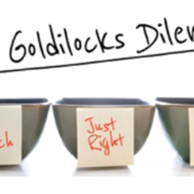 Goldilocks Approach