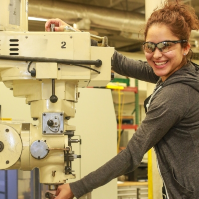 South Texas College has recently received a high national ranking based on its credentialing of students from the National Institute for Metalworking Skills. (photo STC)