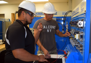 Newly awarded TSTC grant money will help TWC train 40 employees to work in the United States and abroad. (photo TSTC)