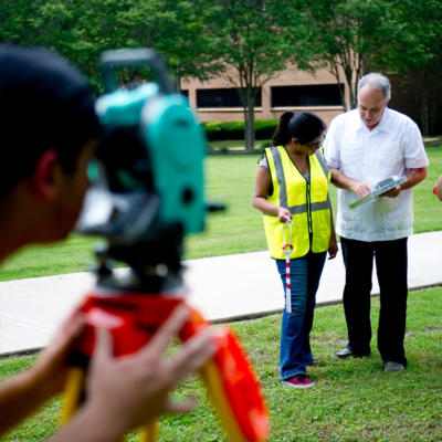 The University of Texas Rio Grande Valley has been ranked in the top seven colleges in Texas for civil engineering majors by Zippia.com, a career resource website. (photo by UTRGV)