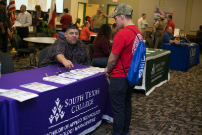 STC hosts its Veterans Expo Nov. 15 and Nov. 16, providing information on benefits and services available to veterans. (photo STC)