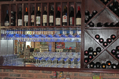 Between 65 and 70 varieties of wine are typically kept in stock at Carlito's. (VBR)