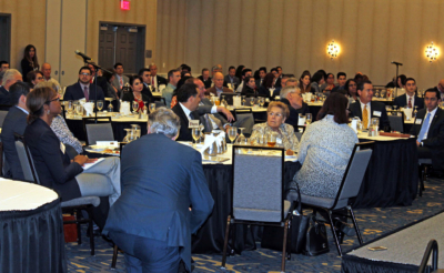 Approximately 200 business and community leaders attended the Border Economic Development and Entrepreneurship Symposium in McAllen.