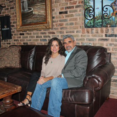 Mercedes and Luis Betancourt worked to create a comfortable, inviting space at Carlito's Wine House. (VBR)