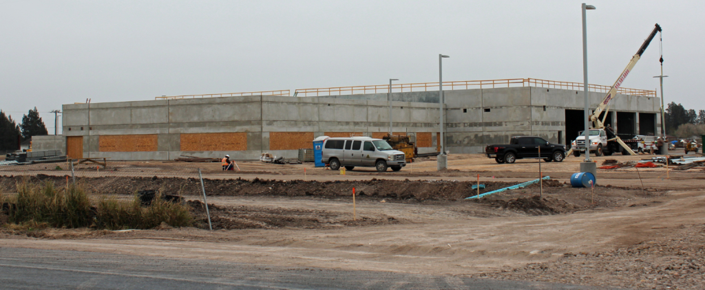 The AEP Texas service center near Los Fresnos is a 32,350-square-foot building on 15 acres. (VBR)