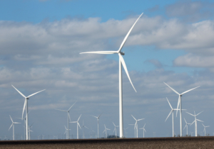 New wind farm construction in the Raymondville area is part of what has driven sales tax revenue percentage increases that rank among the highest in the Valley. (VBR)