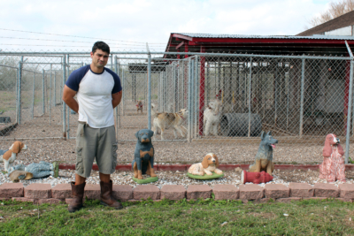 Gabriel Palacios manages the day-to-day operations at the Canine Country Club. (VBR)