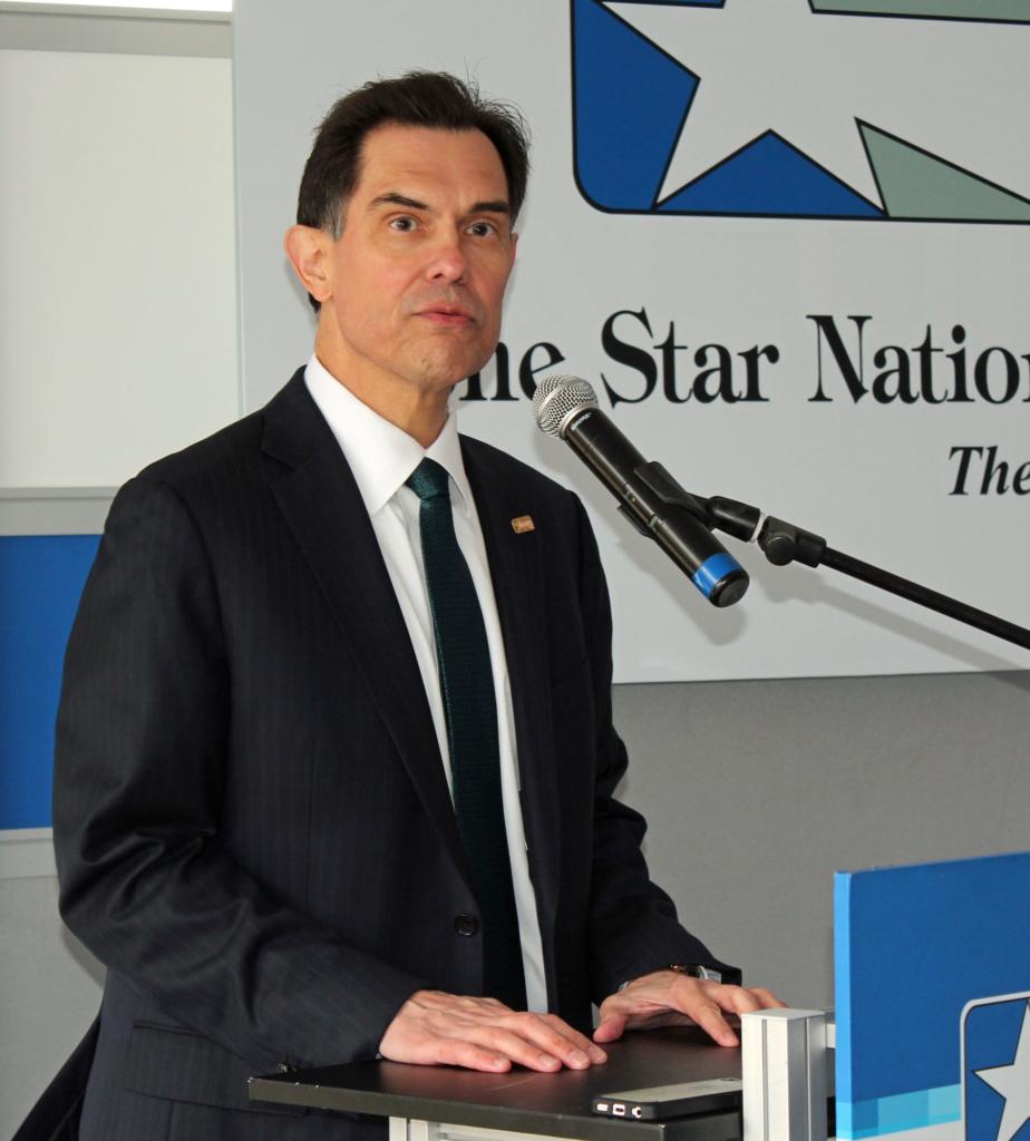 Lone Star National Bank President David Deanda. (VBR)