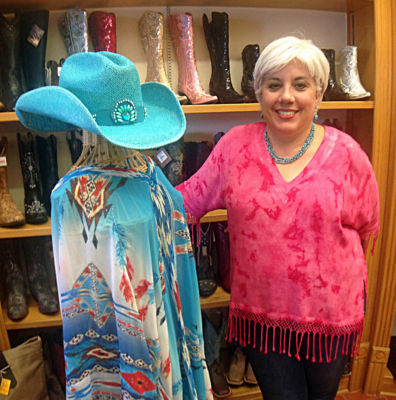 Adjusting to local customer demand and consumer trends has helped keep Lionel's Western Wear in Weslaco a successful business. The once rugged boots and hat shop now also caters to women with a boutique, which accounts for 50 percent of its sales.