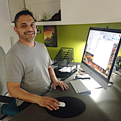 Cultura Agency owner Art Alcantar is one of the entrepreneurs who launched a business with the help of the Mission EDC. (VBR)