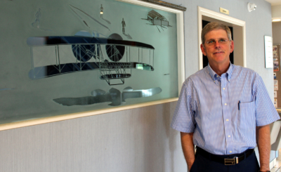 Bob McCreery operates McCreery Aviation, which was founded by his father in 1946. (VBR)