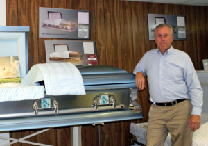 Raymondville's David Wittenbach now operates one of the oldest family-owned funeral homes in the Rio Grande Valley. (VBR)