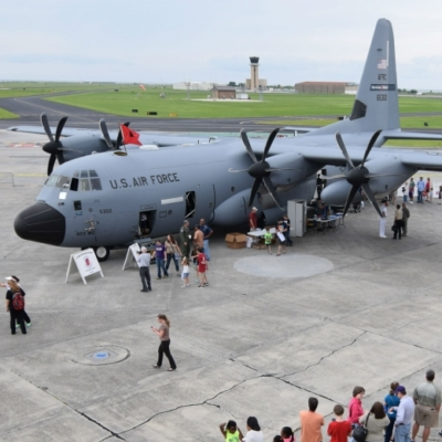 The 2016 NOAA Hurricane Awareness Tour will feature a U.S. Air Force WC-130J Hurricane Hunter aircraft May 7 at McAllen International Airport.