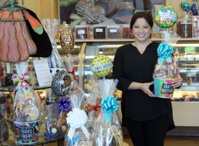 Franchises like Veronica Barrera-Cuellar's locations of Rocky Mountain Chocolate Factory (as featured in the Nov. 2017 edition of VBR) are big business in the Valley. (VBR)