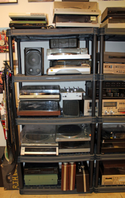 Valley Vinyls also sells used stereo components, but will order new equipment for custom stereo systems. (VBR)