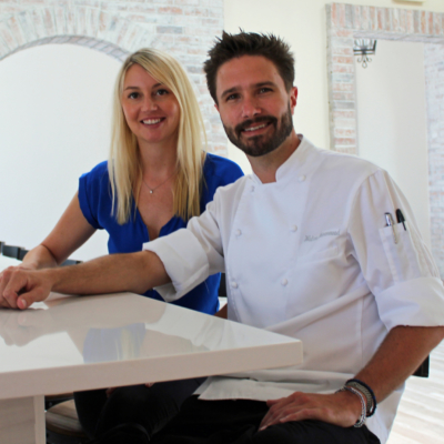 Brandi Hackett and Walter Greenwood have teamed with restaurateurs Scott and Bob Friedman to create South Padre Island's newest restaurant. (VBR)