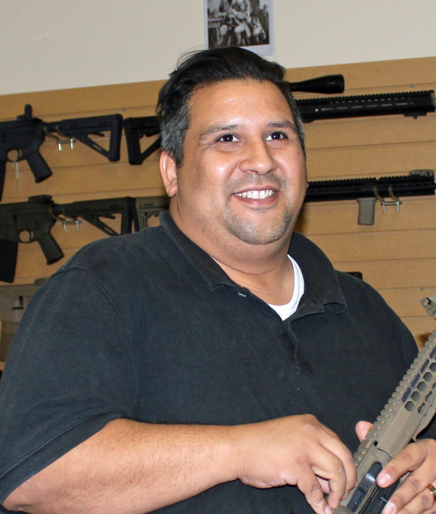 rian Guerra, owner of Armas de Guerra and Lone Star Guns. (VBR)