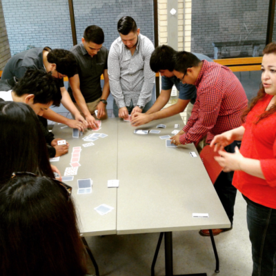 The All In Internship Program connects Brownsville employers with students via paid internship programs.