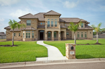One of the many homes built by Homelink Homes in the Rio Grande Valley. (Courtesy)