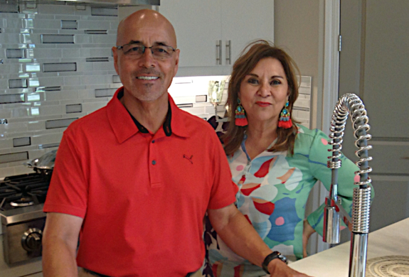 Frank and Haydee Del Angel have built a successful business constructing high-end homes. (VBR)