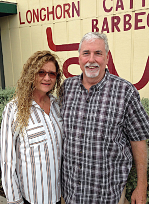 Longhorn owners Lisa and Bill Turner have found success with a downhome atmosphere and good food. (VBR)