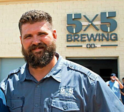 _Rice: Mission native and Army veteran George Rice is one of the founders of 5X5 Brewing Co. (VBR)