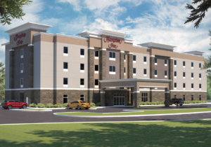 A new Hampton Inn is nw being built at 1004 Fairfield Blvd. in Weslaco