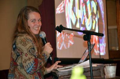 Keynote speaker Kelsey Huckaby