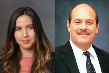 Lorena Hernandez and Jose Herrera