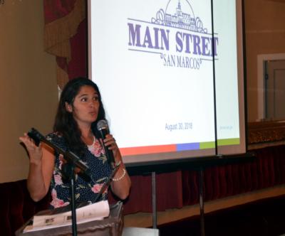 Keynote speaker Samantha Armbruster