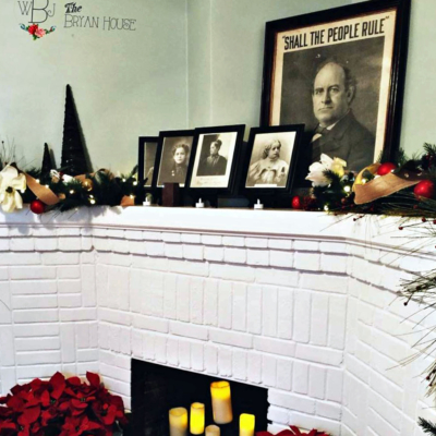 Photos of William Jennings Bryan and his family are on display at the Mission home. (VBR)