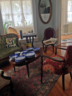 The interior of The Bryan House is decorated to reflect the early 1900s when the Bryan family used the home as a winter retreat. (VBR)