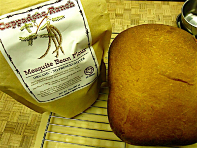 Mesquite bean flour can be used in baking, as well as making smoothies or on top of meat or oatmeal for added flavor. (Courtesy)