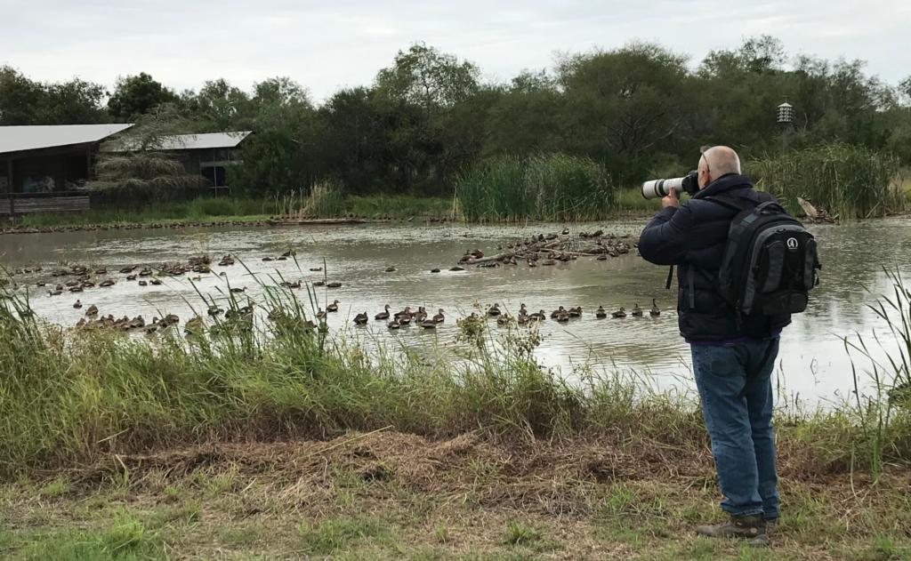 Estero Llano Grande offers ample opportunities for wildlife photography. (VBR)