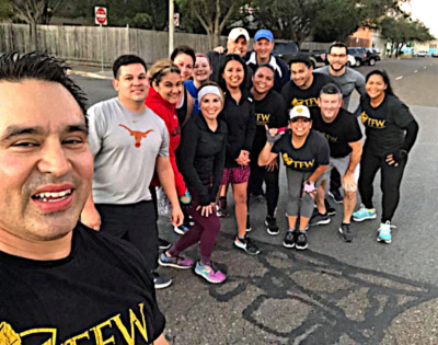 Bobby Muniz coaches Training For Warriors, a fitness and nutrition program to promote healthy lifestyles. (VBR)